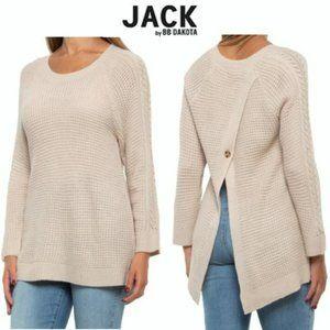 NWT Jack by BB Dakota Back Split Sweater